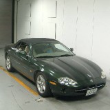 (17)  Jaguar XK8 cabrio green